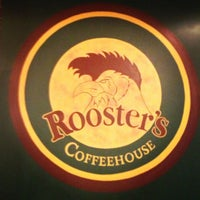 Photo taken at Rooster's Coffeehouse by Val M. on 12/11/2012