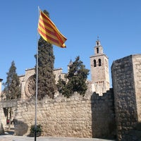 Photo taken at Monestir de Sant Cugat by Oscar C. on 2/24/2013