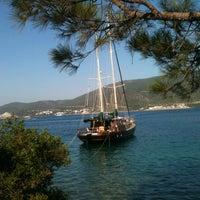 Photo taken at Torba Plajı by 👰Gizem A. on 6/23/2013