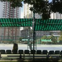 Photo taken at Phú Thọ tennis club by Kiddo T. on 2/3/2013