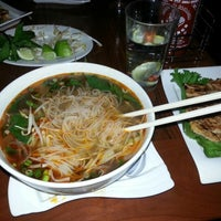 Photo taken at Pho on 6th by Isabelle P. on 11/30/2012
