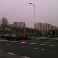 Photo taken at Metro Służew by Anil E. on 11/19/2012