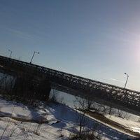 Photo taken at Rourke Bridge by Renee L. on 3/10/2013