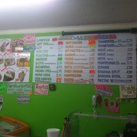 Photo taken at La Michoakana & Café by Klaudya E. on 12/19/2012