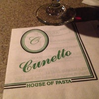 Photo taken at Cunetto House of Pasta by Christine L. on 12/15/2012