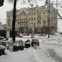 Photo taken at Terazije by Damir on 12/9/2012