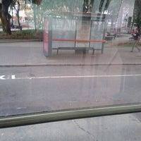 Photo taken at Estação Tubo Praça Tiradentes (Ligeirinho - Linhas 304/307/607) by Caroline A. on 11/21/2012