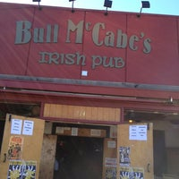 Photo taken at Bull McCabe's Irish Pub by Jim B. on 3/11/2013