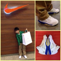 Photo taken at Nike Stadium by Paolo M. on 11/29/2013