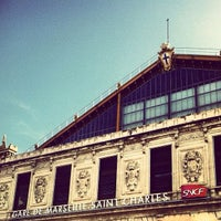 Photo taken at Gare SNCF de Marseille Saint-Charles by Gee on 11/20/2012