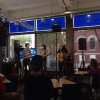Photo taken at Winnipeg Free Press News Café by Joseph R. on 10/3/2013