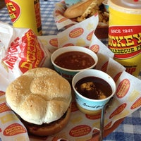 Photo taken at Dickey's Barbeque Pit by Billy S. on 11/28/2012