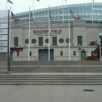 Photo taken at Soldier Field by Cecy R. on 12/1/2012