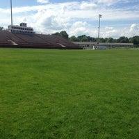Photo taken at Cameron Stadium by Jordan S. on 7/8/2013