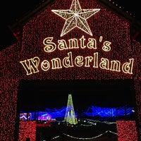 Photo taken at Santa's Wonderland by Chris E. on 12/23/2012