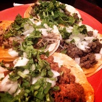 Photo taken at Tacos Matamoros by Amy R. on 5/25/2013