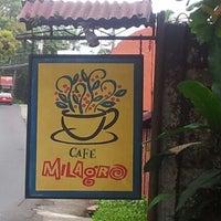 Photo taken at Café Milagro in Manuel Antonio by Cristie H. on 1/15/2013