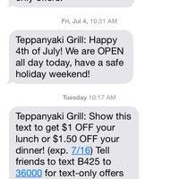 Photo taken at Teppanyaki Grill & Supreme Buffet by Joseph B. on 7/13/2014