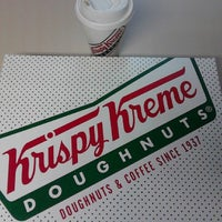Photo taken at Krispy Kreme Doughnuts by Angel T. on 11/18/2013