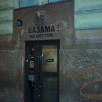 Photo taken at Basama Tea Kafé Room by Tomáš Z. on 12/9/2011