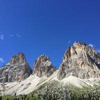 Photo taken at Rifugio Passo Sella by Lalessia on 8/13/2016