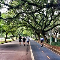 Photo taken at Parque Ibirapuera by Andrés R. on 11/8/2013