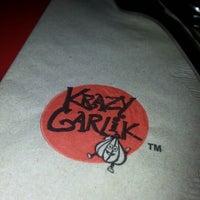 Photo taken at Krazy Garlik by Marinelle F. on 11/24/2012