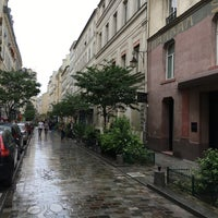 Photo taken at Rue Ferdinand Duval by Alex E. on 6/12/2016