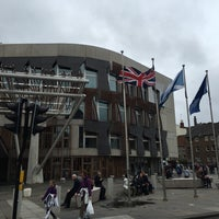 Photo taken at Scottish Parliament by Alex E. on 8/11/2016