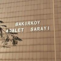 Photo taken at Bakırköy Adalet Sarayı by Kübra D. on 1/2/2013