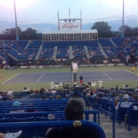 Photo taken at Connecticut Tennis Center by Michael C. on 8/25/2015