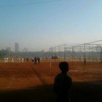 Photo taken at Shivaji Park by Prathamesh A. on 11/30/2012