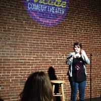 Photo taken at Arcade Comedy Theater by Aaron K. on 1/11/2014