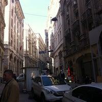 Photo taken at Bankalar Caddesi by Selçuk on 2/17/2014