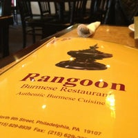 Photo taken at Rangoon Burmese Restaurant by Jason B. on 3/10/2013