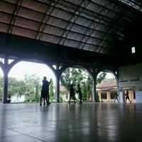 Photo taken at SMP Pangudi Luhur 1 Yogyakarta by Refo W. on 12/9/2012