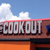 Photo taken at Cook-Out by Rob on 7/11/2014