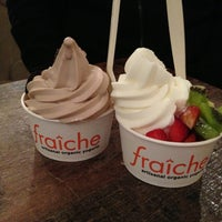 Photo taken at Fraiche Yogurt by Patricia Z. on 2/1/2013