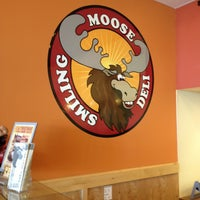 Photo taken at Smiling Moose Deli by Tracy M. on 4/28/2013