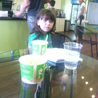 Photo taken at Chill Frozen Yogurt Crepes & Coffee by Martin A. on 3/14/2013