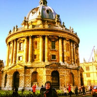 Photo taken at Radcliffe Camera by Ed L. on 12/15/2012