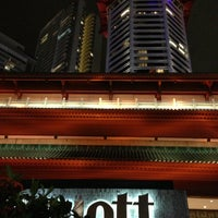 Photo taken at Marriott Singapore Tang Plaza by Artem B. on 1/19/2013