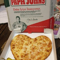 Photo taken at Papa John's Pizza by Kenan T. on 1/22/2013