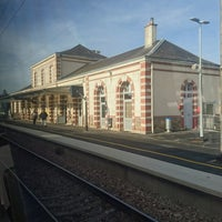Photo taken at Gare SNCF de Sillé-le-Guillaume by GARY on 11/11/2016