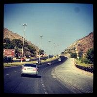 Photo taken at khorfakkan by Alfred V. on 11/16/2013
