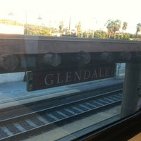 Photo taken at Metrolink Glendale Station by Abdul on 12/19/2012