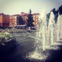 Photo taken at Сквер им. Дзержинского by Ирина С. on 8/9/2013