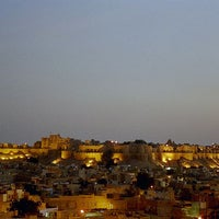 Photo taken at Jaisalmer Fort by HISTORY TV18 on 1/23/2013