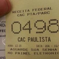 Photo taken at Receita Federal by Alef A. on 12/19/2012