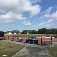 Photo taken at USF Track and Field Complex by Sarah S. on 3/14/2016